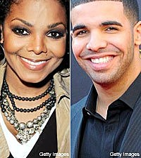Janet Jackson and Drake