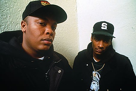 Dr. Dre and Snoop Dogg in Carhartt