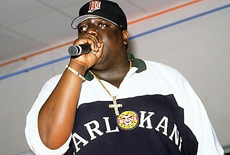 Notorious BIG in Karl Kani