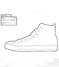 'The Sneaker Coloring Book'