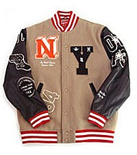 Supreme Letterman Jacket