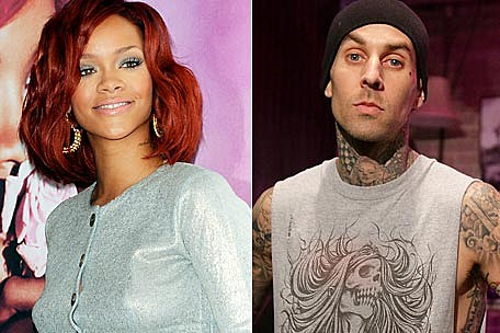 travis barker dating rihanna 23 april 2018 rihanna and travis barker photos, news and gossip find out more about.