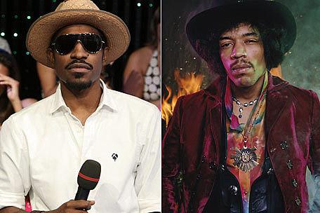 Andre 3000, Jimi Hendrix