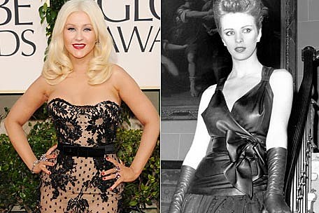 Christina Aguilera, Sheena Easton