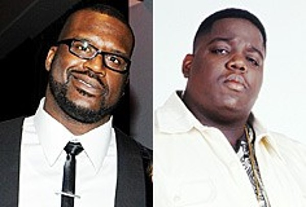 Image result for shaquille o neal and biggie smalls