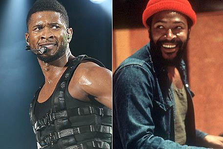 Usher, Marvin Gaye