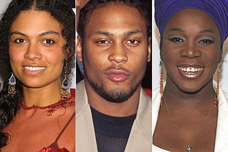 Amel Larrieux Family