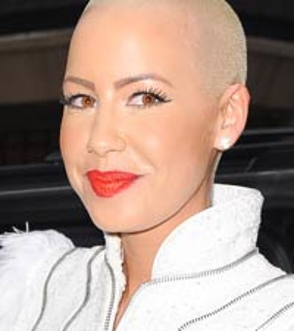 Amber Rose Face Tattoo: Amber Rose Face Tattoo: Tribal Ink Covers Singer's Face?