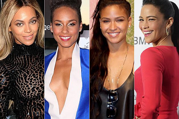Beyonce, Alicia Keys, Cassie Ventura, Paula Patton