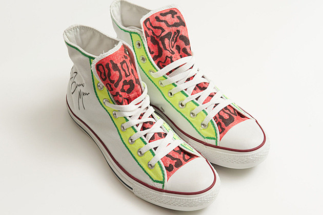 Bruno Mars Converse Kicks