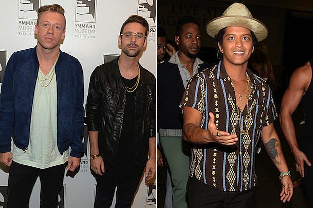 Macklemore Bruno Mars
