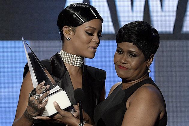 Rihanna and Mama Rihanna
