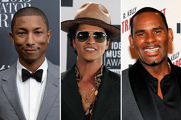 Pharrell Bruno Mars R Kelly