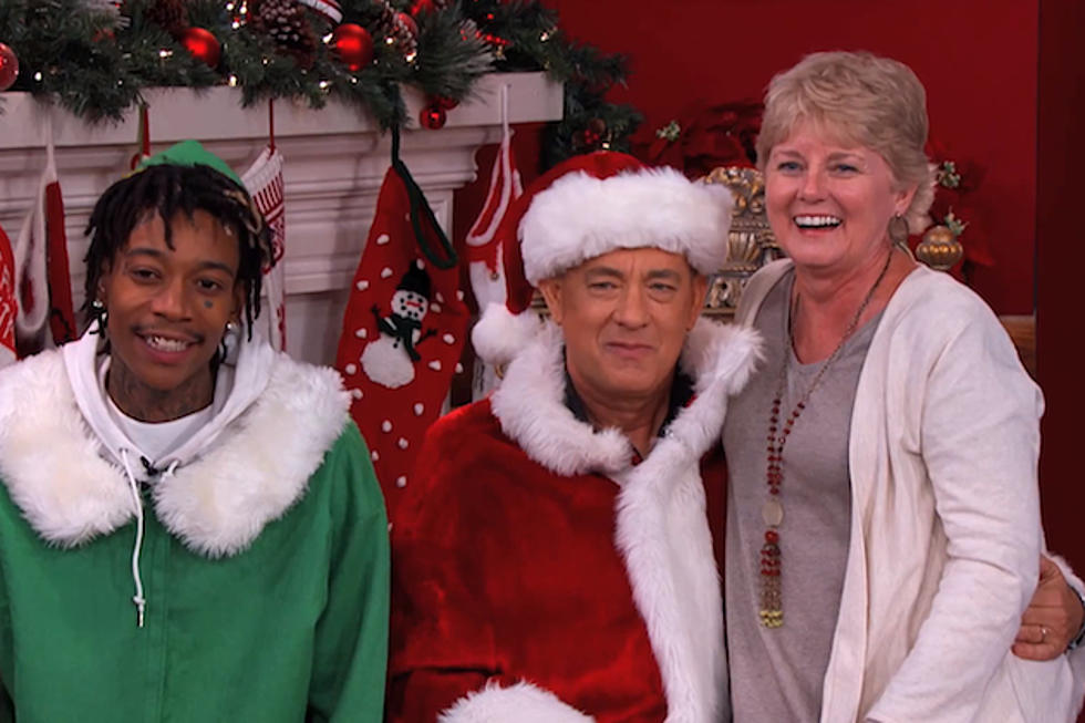 Wiz Khalifa, Tom Hanks Spread Christmas Glee