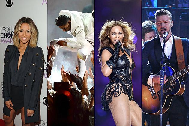 Ciara Miguel Beyonce Justin Timberlake