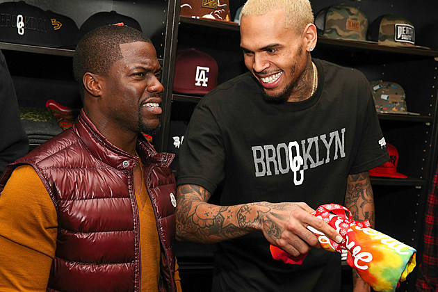 Chris Brown Kevin Hart