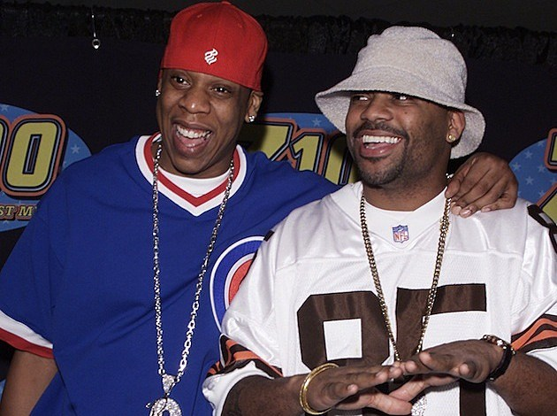 Dame and Jay Z