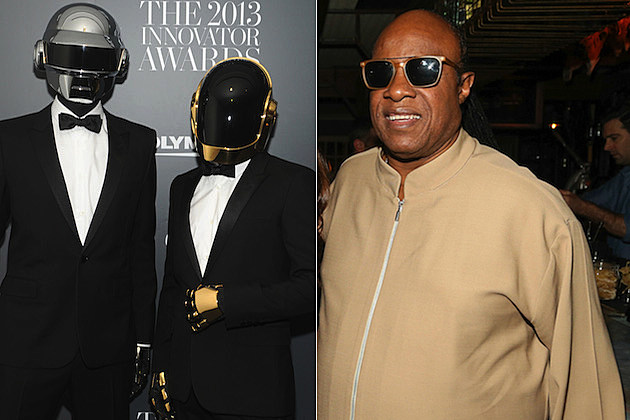 Daft Punk Stevie Wonder