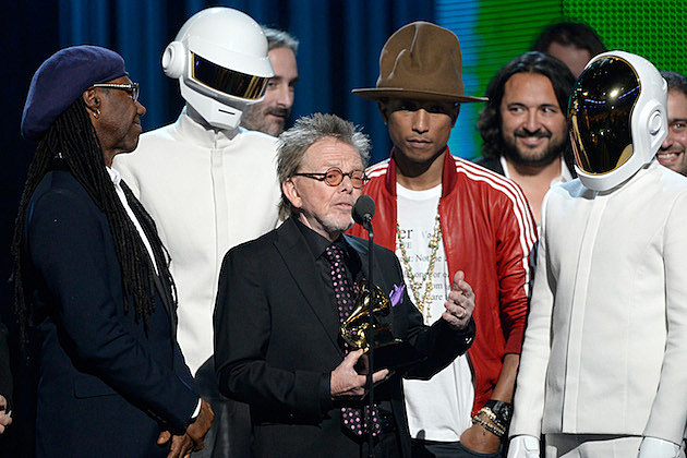 Nile Rodgers Daft Punk Paul Williams Pharrell Williams