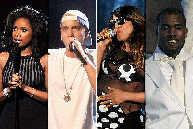 Jennifer Hudson Eminem M.I.A. Kanye West