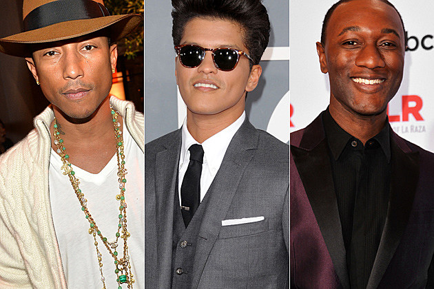 Pharrell Bruno Mars Aloe Blacc