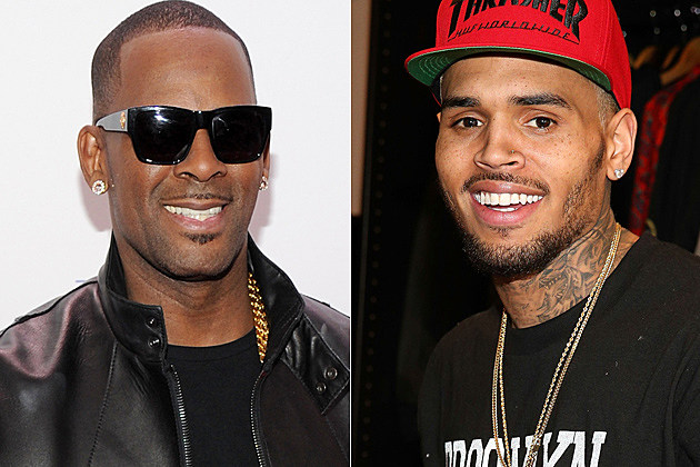 r. kelly chris brown
