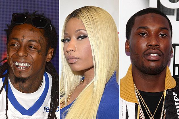 Lil Wayne Nicki Minaj Meek Mill