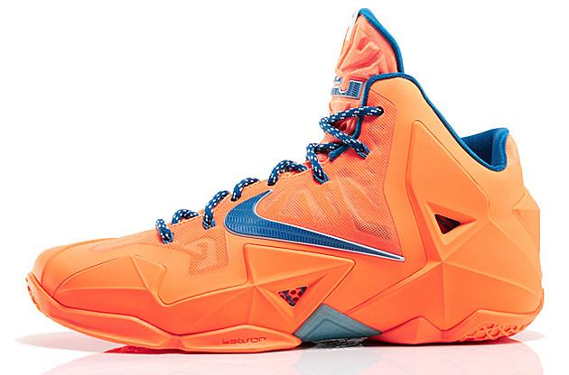 Nike LeBron 11 'Atomic Orange' – Sneaker Of The Week