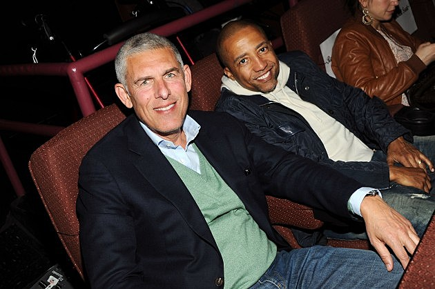 Lyor Cohen and Kevin Liles
