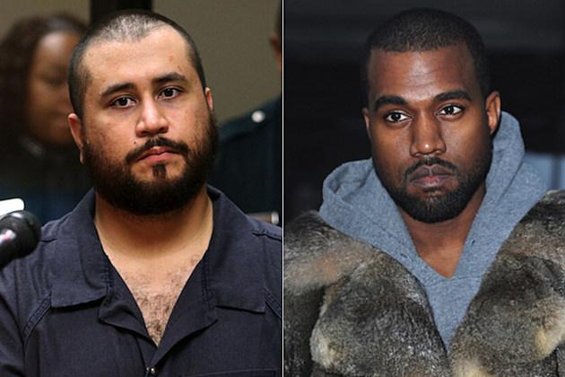 George Zimmerman Kanye West