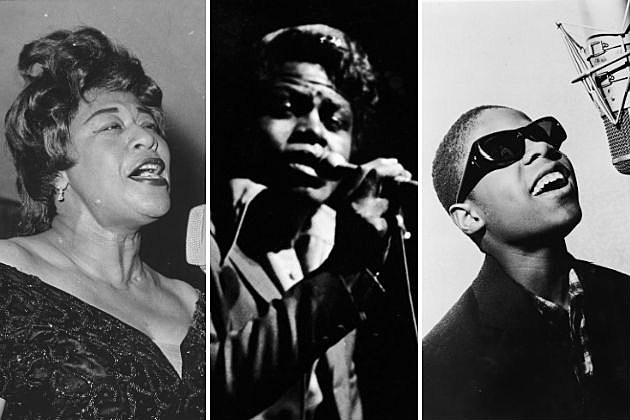 Ella Fitzgerald James Brown Stevie Wonder