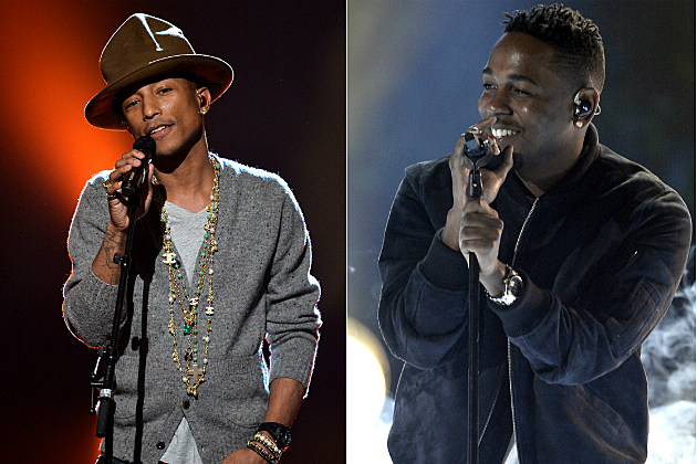 Pharrell Williams, Kendrick Lamar