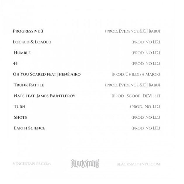 Shyne Coldchain II Tracklist