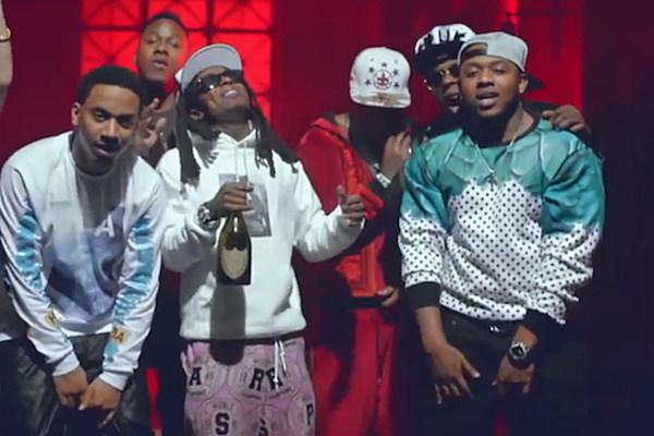 Lil Wayne, Birdman, Euro Throw a Wild Party in 'We Alright' Video