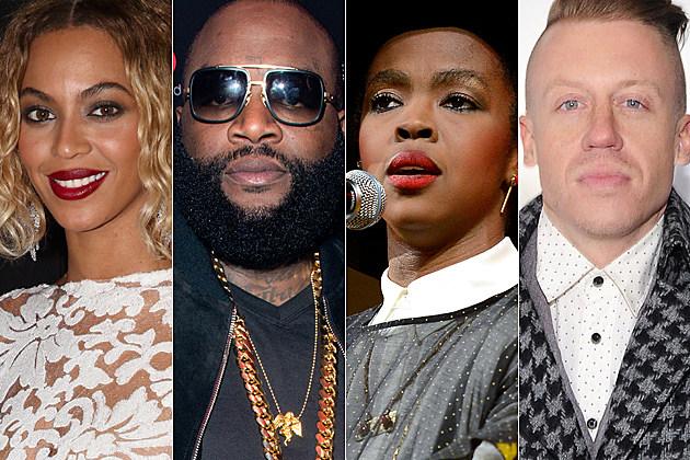 Beyonce Rick Ross Lauryn Hill Macklemore