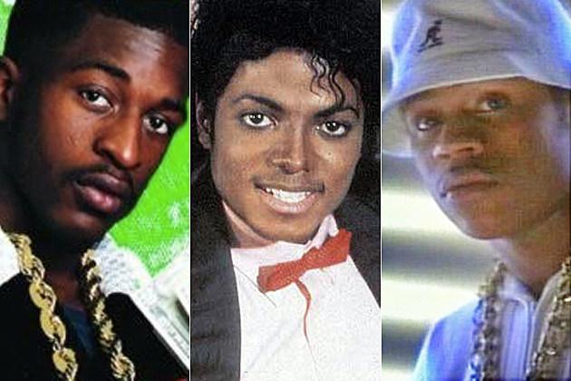 Rakim Michael Jackson LL Cool J