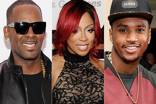 R. Kelly K. Michelle Trey Songz
