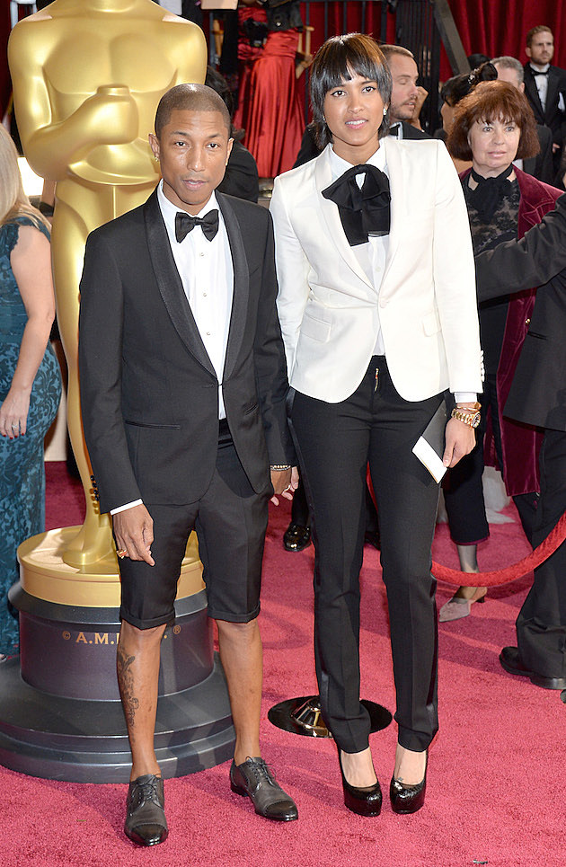 Pharrell Williams Helen Lasichanh