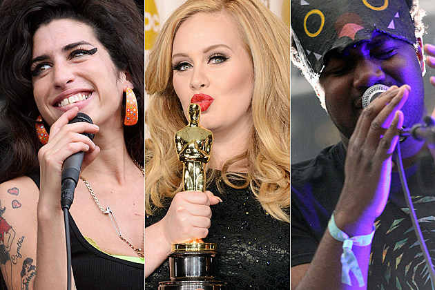 Amy Winehouse Adele Sampha