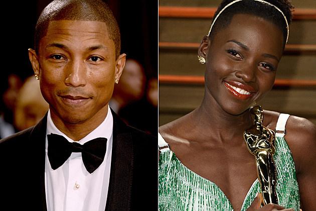Pharrell Lupita Nyong'o