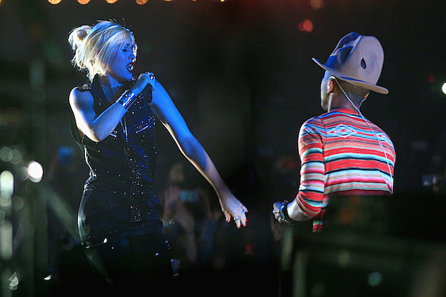 Gwen Stefani Pharrell Williams
