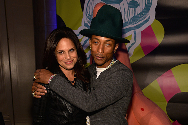 Soledad O'Brien Pharrell Williams