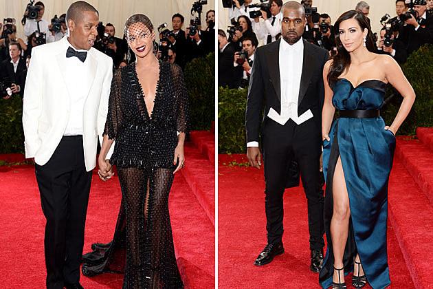 Jay Z Beyonce Kanye West Kim Kardashian