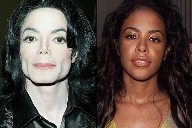 Michael Jackson Aaliyah