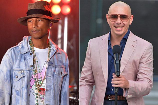 Pharrell Williams Pitbull