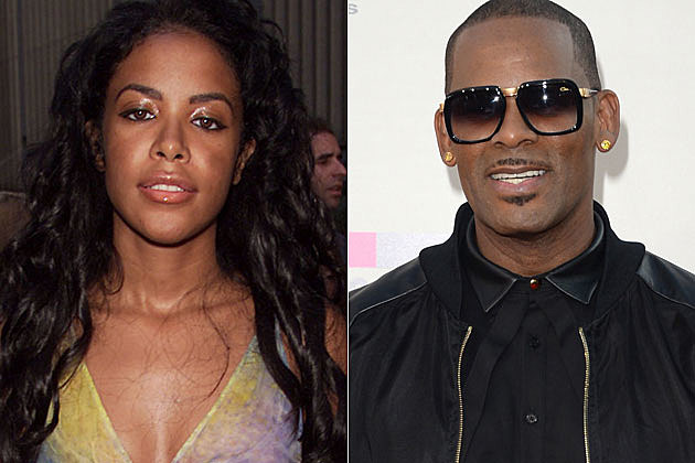 Pin Aaliyah Mar... R Kelly And Aaliyah