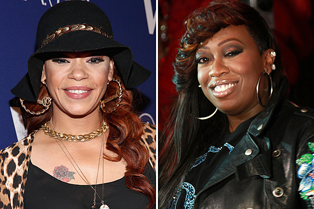 Faith Evans Missy Elliott