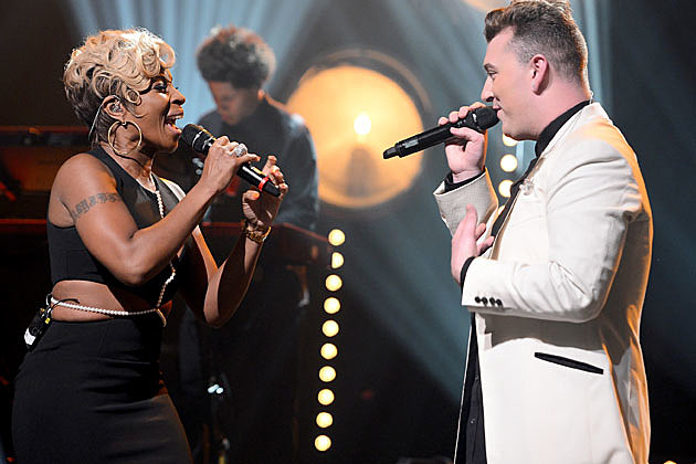 Sam Smith Mary J. Blige
