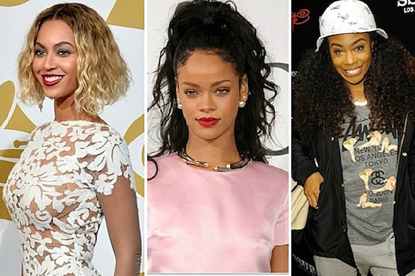 Beyonce, Rihanna, SZA