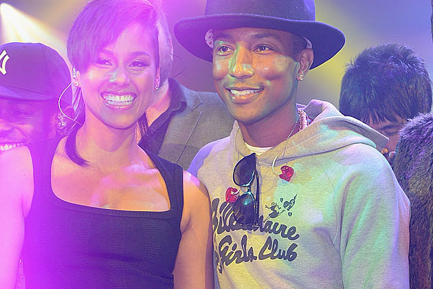 Alicia Keys Pharrell